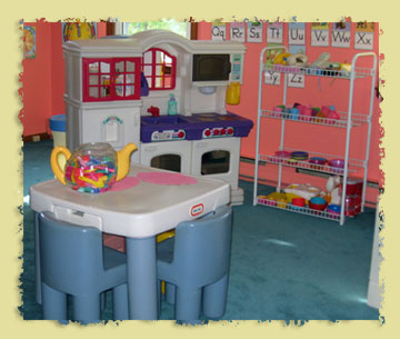 Kitchen Area of Free Play